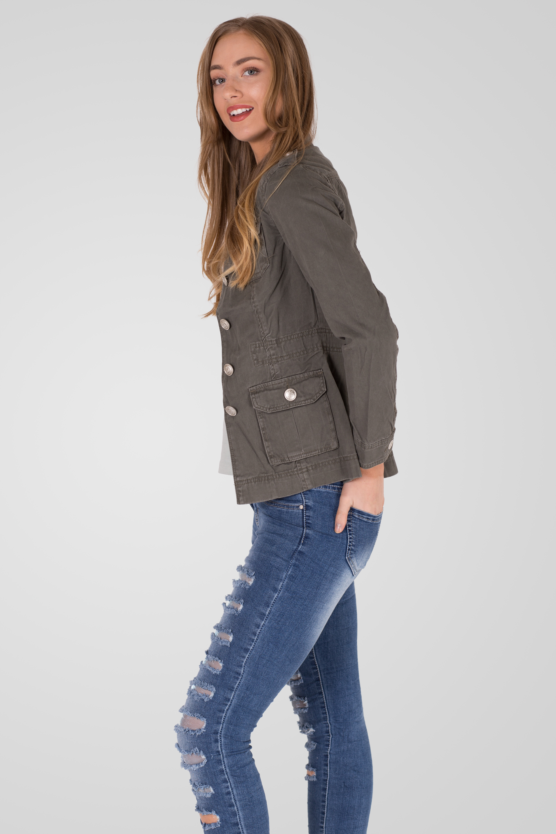 955f4d7f7fb1 Home   New In   Women   MILITARY SUMMER JACKET